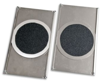 Turning Radius Plates – STAINLESS STEEL for PITS