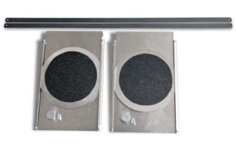 Turning Radius Plates – STAINLESS STEEL for LIFTS