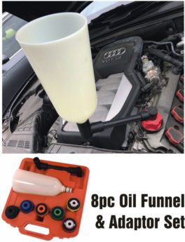 Oil Funnel and Adaptor Set – 8 piece