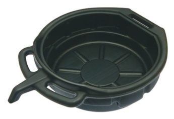 Oil Drain Pan 16 Litre Black