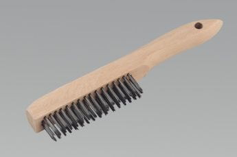 Wire Brush – steel – 4 row