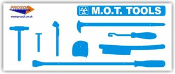 MOT Tool Storage Shadow Panel – BOARD ONLY