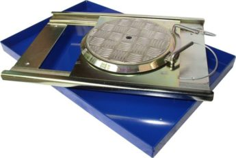 Turning Radius Plates – Roller Bearing for INSPECTION PITS