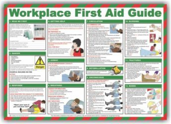 Safety Poster – Workplace First Aid Guide