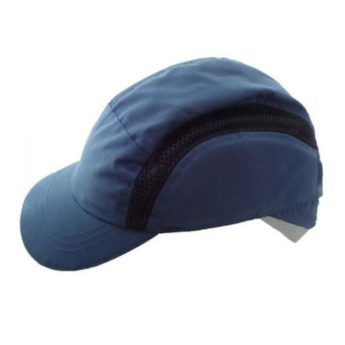 Baseball Cap with integral head protection