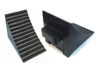Rubber Wheel Chocks for LCVs and 4x4s – PER PAIR