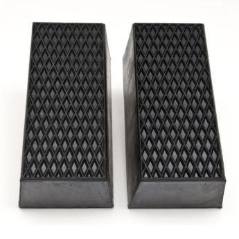 Rubber Riser Block LARGE – 70mm high – PER PAIR