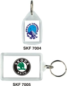 Acrylic Car Key Fobs