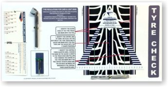 Tyre Check Board – MANUAL