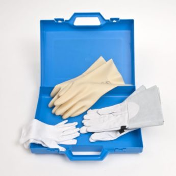 Electrical Safety Glove Kit with Storage Case
