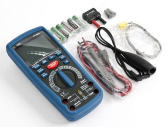 EHV Multimeter and Insulation Tester – CAT III Certified