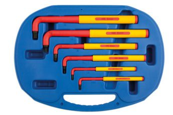 Insulated HEX Key Set Extra Long 6pc -VDE Certified