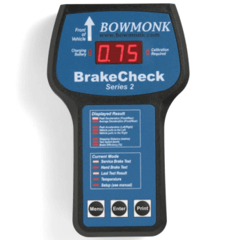 Bowmonk BrakeCheck with Secondary Brake Test Facility BOW801S