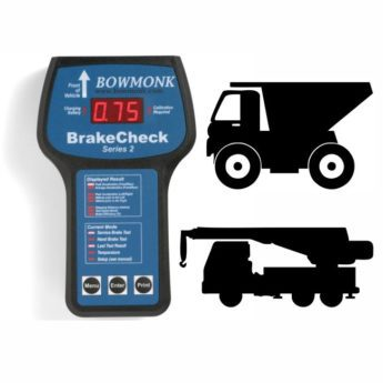 Bowmonk Quarry Brakecheck with Printer in a Case