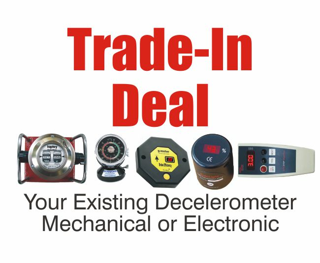 Tapley Electronic Decelerometer MTS Connectable TED5020-TI; TRADE IN OFFER