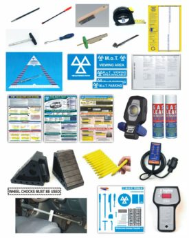 Complete MOT Ancillary Pack COMPREHENSIVE – with ProStore Tool Board