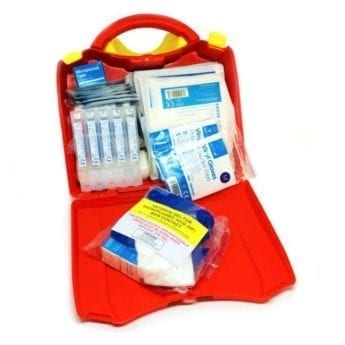 First Aid Kit for Burns including H-F Antidote Gel