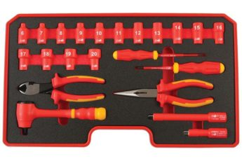 Insulated Tool Kit STARTER 3/8″ Drive – 22pc – VDE Certified