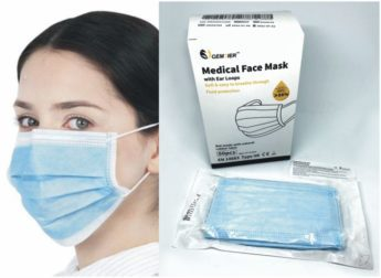 Medical Face Masks with Ear Loops – Type IIR