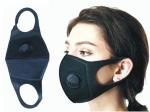 Washable Face Masks with Valve