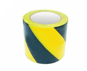 Hazard Warning Marking Tape ECONOMY – 100mm(w) x 33M
