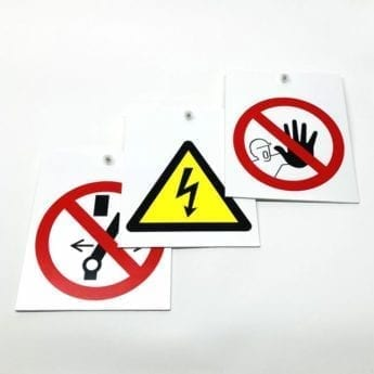 ISO Pictogram Warning Sign Pack