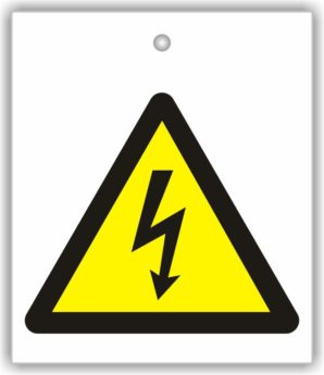 Sign – ISO Pictogram – High Voltage