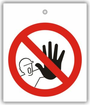 Sign – ISO Pictogram – No Access