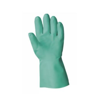 Green Nitrile Lined Gauntlets (pair) SIZE 10
