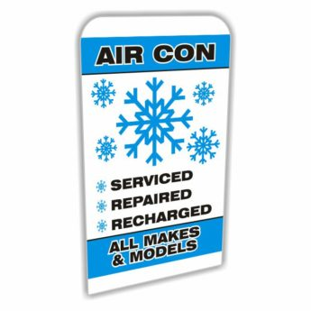 REPLACEMENT PANEL Air Con – Pavement Sign