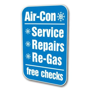 REPLACEMENT PANEL Air Con – Swinger Sign