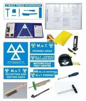 MOT Bay Core Products & Small Tools PACK – MOTORCYCLE (Class 1 & 2)