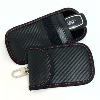 Faraday Key Pouch with snap shackle – 2 per pack