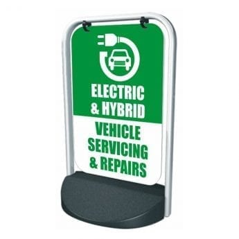 Swinger Pavement Forecourt Sign – EHV SERVICING & REPAIRS