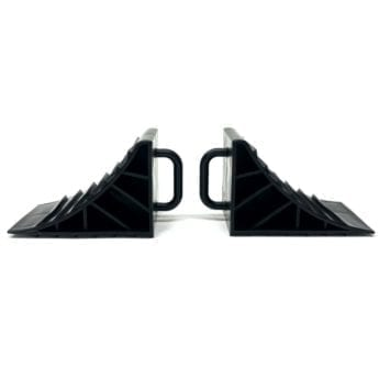 Wheel Chocks for Cars and Trailers – Lightweight Plastic