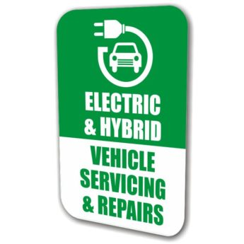 REPLACEMENT PANEL Electric Vehicle – Swinger Sign